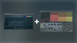 EQ low cut + Maximus low band compression