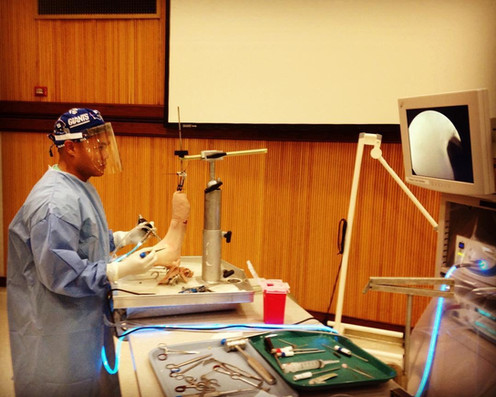 Foot and Ankle Arthroscopy
