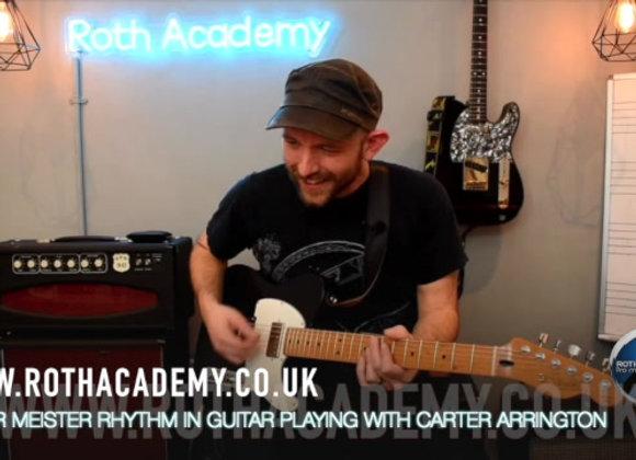 Rhythm Guitar with Carter Arrington