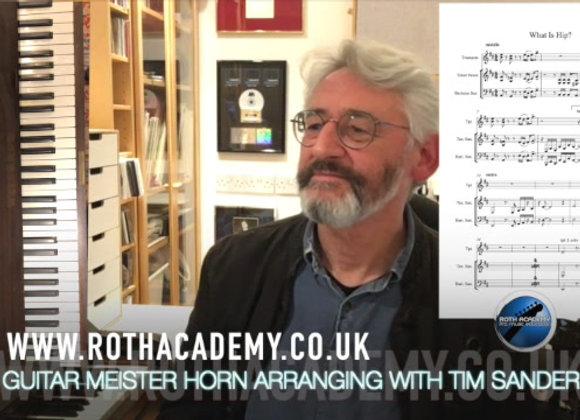 Arranging for Horns with Tim Sanders