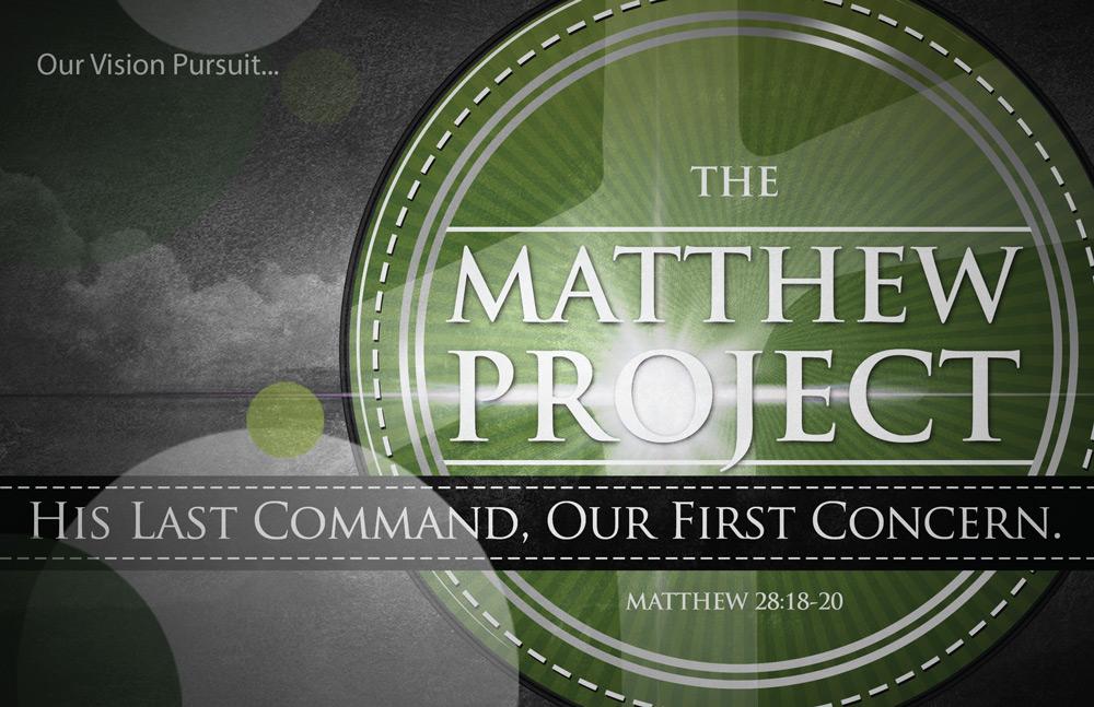 Matthew Project Booklet