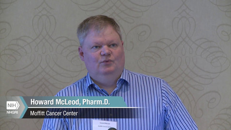 GM10: Multidisciplinary Approaches and Training PGx Practitioners at Moffitt - Howard McLeod