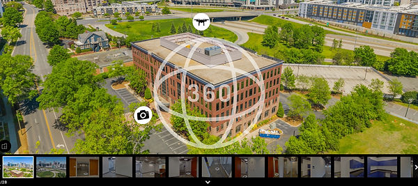 Clear Sky OFFICE - 360 VIRTUAL TOUR & DRONE VIDEO COMBO
