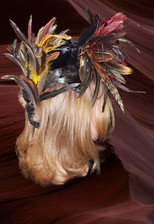 Feathered Hat, Right Side View