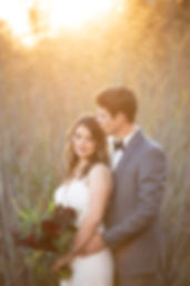 bride and groom embrace Lodi california
