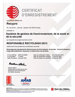 Certificat R2 - SAI GLOBAL 2020-2023-pag