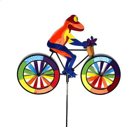 Dart Frog Bicycle Wind Spinner
