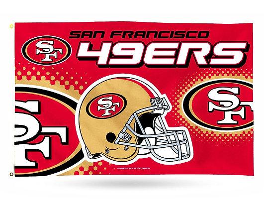 San Francisco 49ers Banner (NFL Officially Licensed)