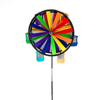 Ferris Wheel Wind Spinner