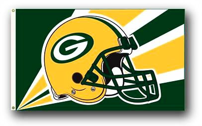 Green Bay Packers Banner (NFL Officially Licensed)