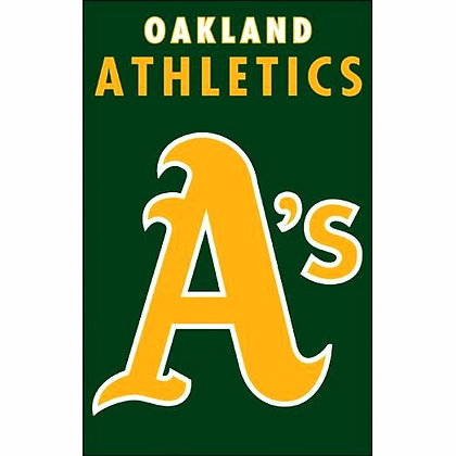 Oakland A's Decorative Flag (MLB Officially Licensed)