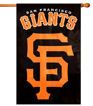 San Francisco Giants Decorative Flag (MLB Officially Licensed)