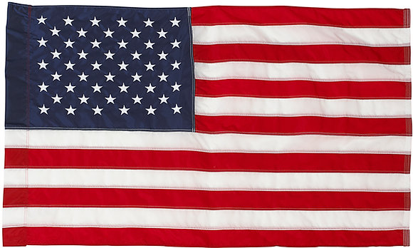 United States TITAN™ Nylon Flag with Pole Hem