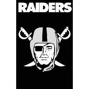 Las Vegas Raiders Decorative Flag (NFL Officially Licensed)