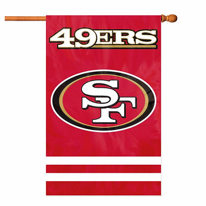 San Francisco 49ers Decorative Flag (NFL Officially Licensed)