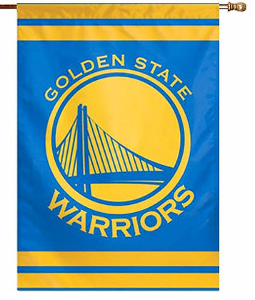 Golden State Warriors Decorative Flag (NBA Officially Licensed)