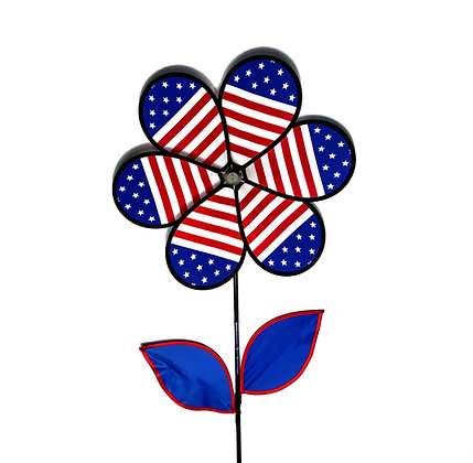 Patriotic Wind Spinners (Two Sizes)