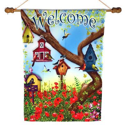 Bird House Welcome