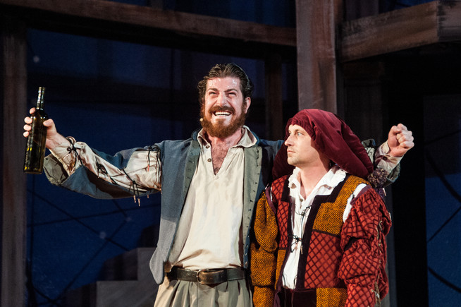as Stefano in The Tempest