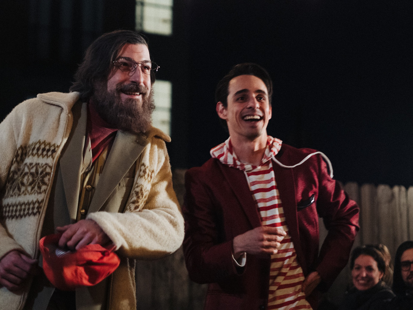 """Lear and Fool """"Clowning"""" around"""