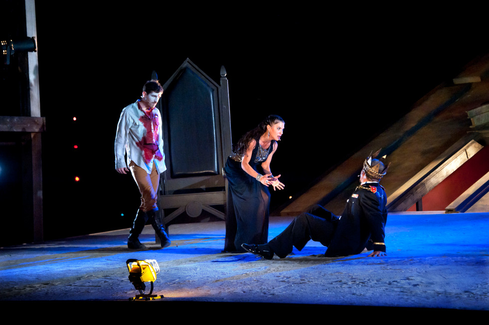 As Banquo in Macbeth