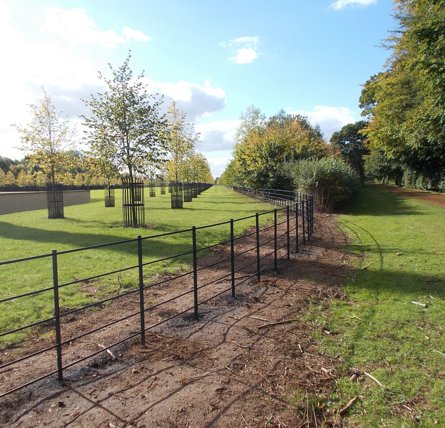 our traditional estate fencing