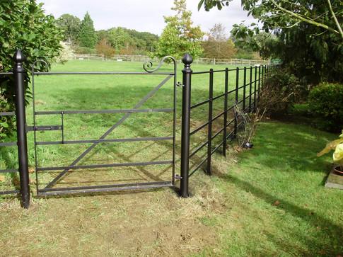 Fabricated Steel Pedestrian Gate