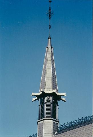 Decorative architectural metalwork spire