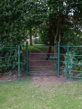 Britannia Arc Pedestrian Gate