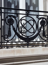 Solid cast iron Juliet balconies for heritage building in central Mayfair