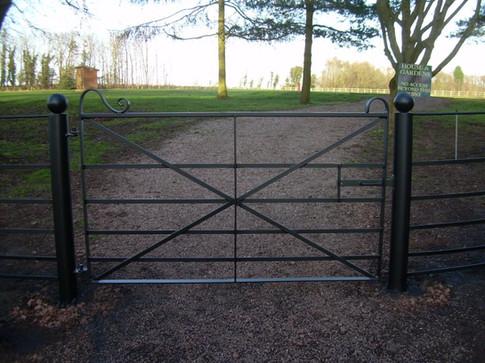 A Bespoke Pedestrian Gate
