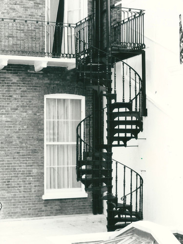 Spiral staircase installation from our archive.