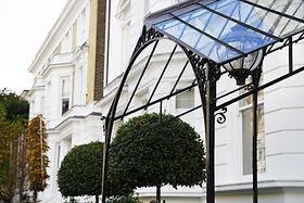 Canopy with glazing