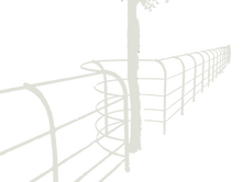 white bespoke fence vector.png