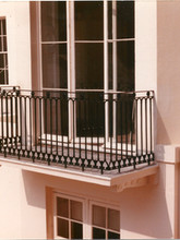 Cast iron balcony from our archive.