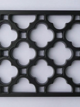Bespoke cast iron grilles.