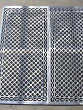 Bespoke cast aluminium grilles