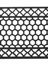 Cast iron floor grille