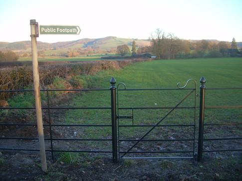 Pedestrain Gate - Footpath