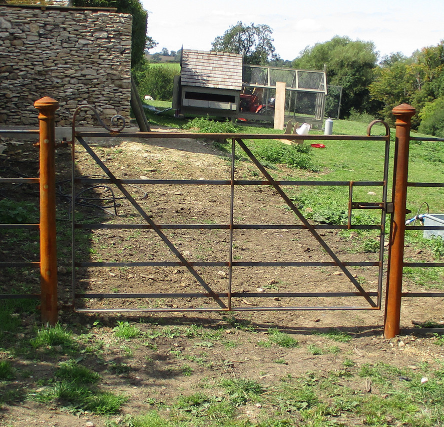 Figure 2.Standard Fabricated Gate with C