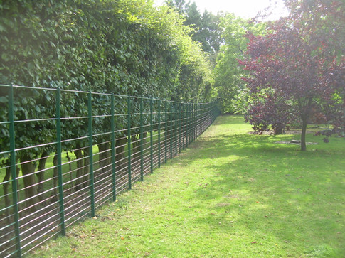 Deer fencing - incorporating wire