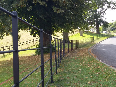 Estate Fencing with Round Rail