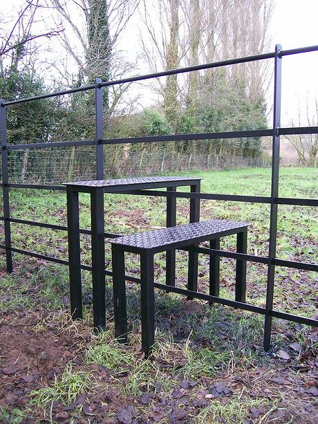 Estate fencing step stile