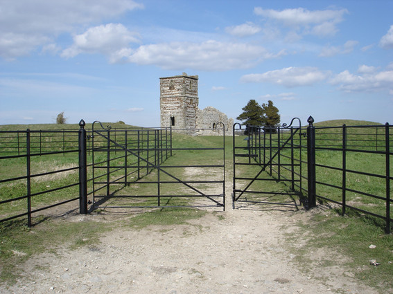 Double Gate with Pedestrian side gate