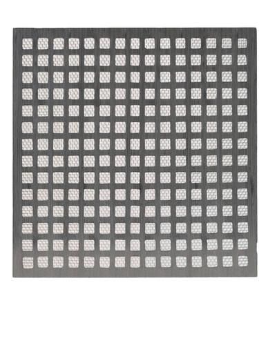 Cast aluminium air brick with mesh