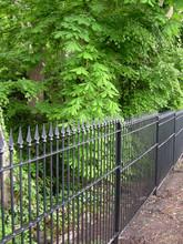 Classic hand fabricated railings panels