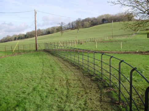 Semi curved Top Fence.