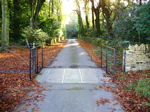Traditional cattle grid