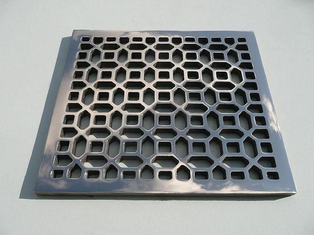 Bronze grille