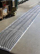 Bespoke cast aluminium floor grilles.